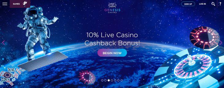 Genesis Casino cashback