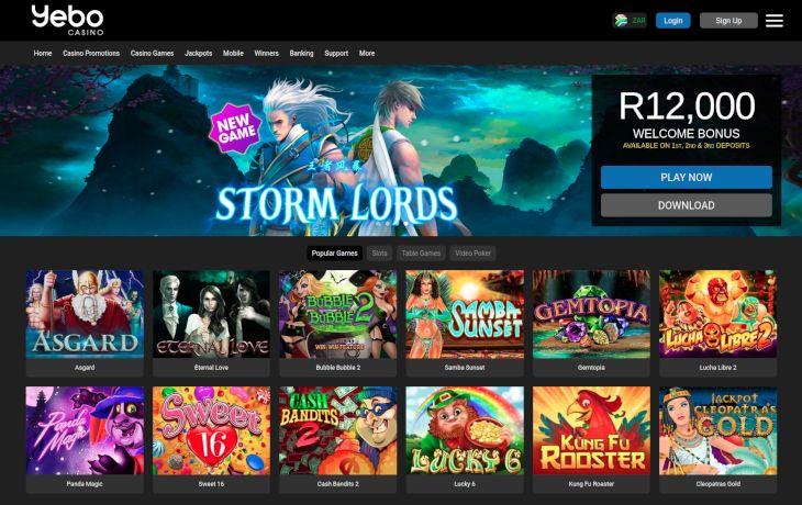 Yebo Casino slots